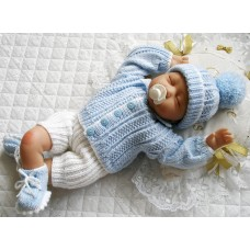"""17 - 22"""" Doll / 0-3 Months Baby #142"""