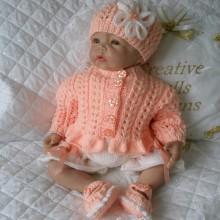 "17 - 22"" Doll, 0-3 mths Baby #106"