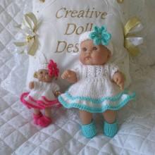 """5"""" & 8 Berenguer Doll #111"""