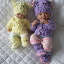"10&15"" Doll Premature Baby #116"
