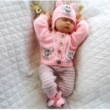 """17 - 22"""" Doll / 0-3 Months Baby #117"""