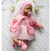 "0-3 Months Baby 17-22"" Doll #144"