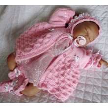 "0-3 Months Baby 17-22"" Doll #145"