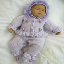 "17 - 22"" Doll / 0-3 mths Baby #17"