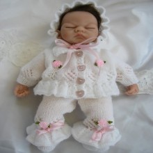 "10"" Doll /  Premature Baby #20"