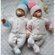 """20 - 22"""" Doll / 0-3 Months Baby #143"""