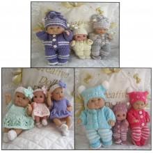 """5-8"""" Berenguer Doll #124"""