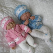 "10 &15"" Doll / Premature Baby #59"