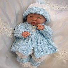 "14-15"" Doll, Premature Baby #05"