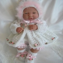 "14-15"" Doll, Premature Baby #07"