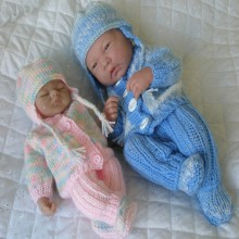 "10 &14"" Doll / Premature Baby #84"