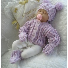 """17 - 22"""" Doll / 0-3 Months Baby #125"""