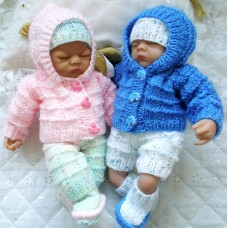 "10"" Doll Premature Baby #138"