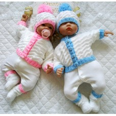 """17-22"""" Doll/0-3 Month Baby#141"""