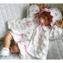 "20-22"" Doll / 0-3 Month Baby #131"