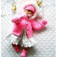 """17-22"""" Doll / 0-3 Month Baby #137"""