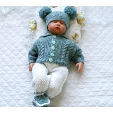"17 - 22"" Doll /0-3 Month Baby #136"
