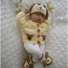 "17 - 22"" Doll / 0-3 Months Baby #119"